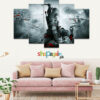 Assassin's Creed 3 5 Piece HD Wall Frame