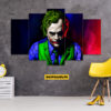 Joker 5 Piece HD Wall Frame