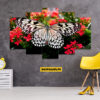 Butterfly 5 Piece HD Wall Frame
