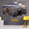 New York 5 Piece HD Wall Frame