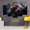 Dota 2 5 Piece HD Wall Frame